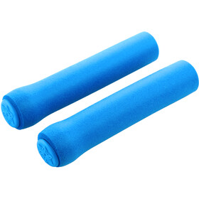 Supacaz Siliconez Grips, neon blue
